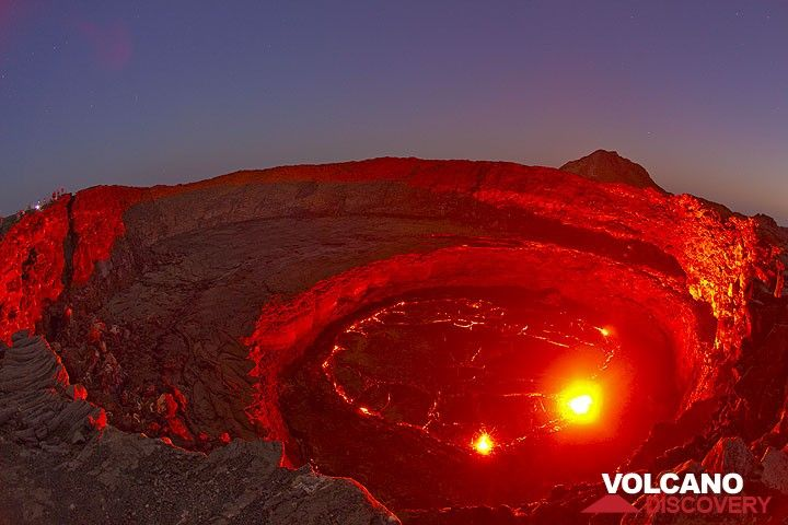 Erta Ale volcano's lava lake back in Nov 2009.  