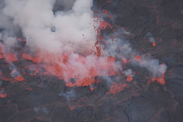 Nyiragongo's lava lake (Photo: Michael Wareham)