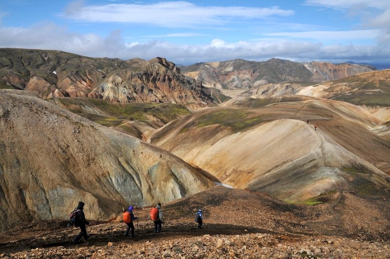 Colorful rhyolite mountains of Landmannalaugur, Iceland (Photo: Thierry Basset)