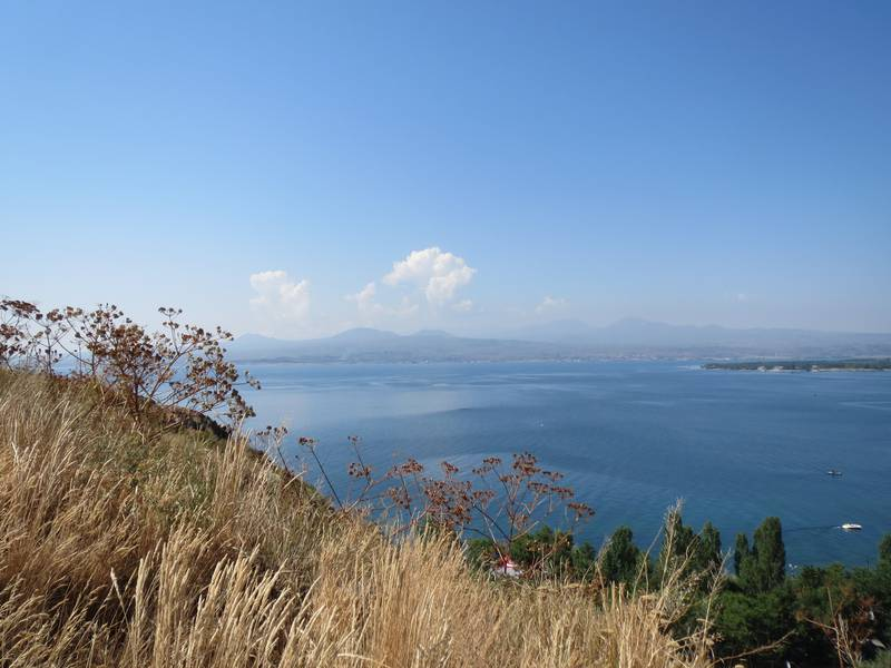 Ghegam Ridge volcanic field with its highest volcano, mount Azhdahak, Sevan Lake, Armenia (Photo: WNomad)