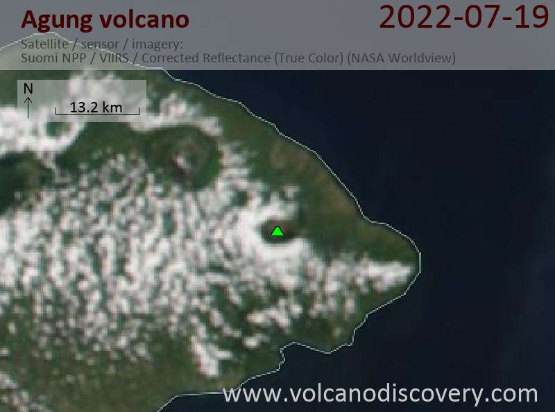 Recent Satellite Images Of Volcanoes Tool To Detect Ash Plumes - Most current satellite maps