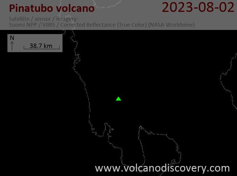 Pinatubo Volcano, Luzon Island (Philippines) - facts
