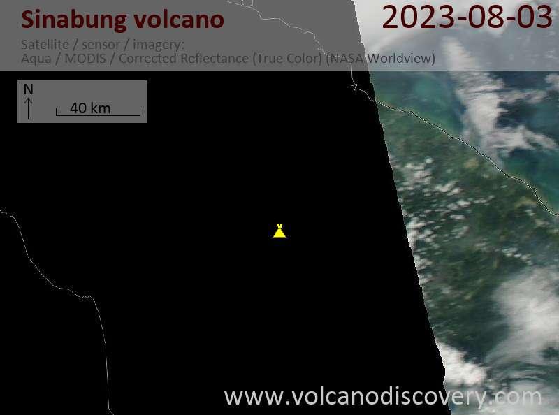 Sinabung volcano (Indonesia) eruption news & activity updates